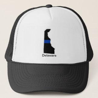 Delaware tunn blålinjentruckerkeps keps