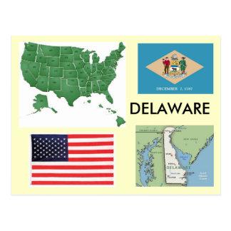 Delaware USA Vykort