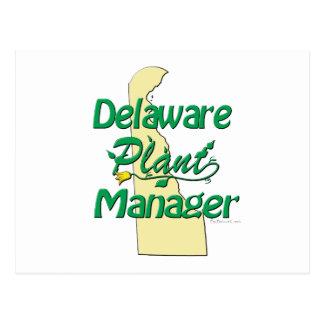 Delaware växtchef vykort