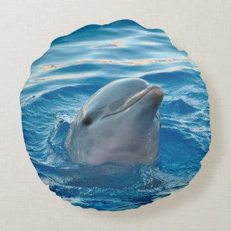 Delfin Rund Kudde