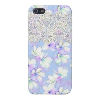 Delikat blommigt och snöre iPhone 5 skal