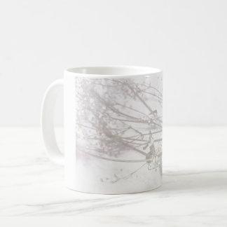 Delikat brudslöjamugg vit mugg