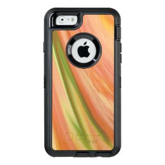Delikat persika OtterBox defender iPhone skal