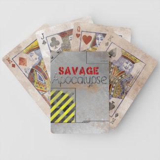 Deluxe däck för vild apokalyps spelkort
