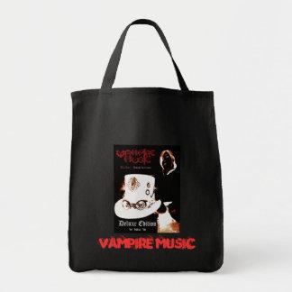 Deluxe toto för vampyrmusik mat tygkasse