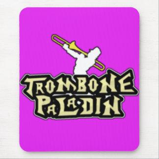 Deluxe TrombonePaladinlogotyp Mus Matta