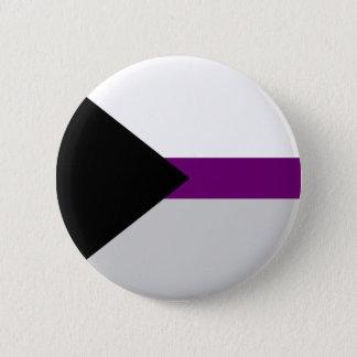 Demi-sexuell flaggaknapp standard knapp rund 5.7 cm