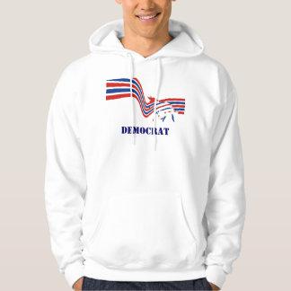 Demokratåsnaval 2016 sweatshirt med luva