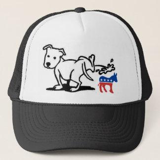Demokrathund Truckerkeps