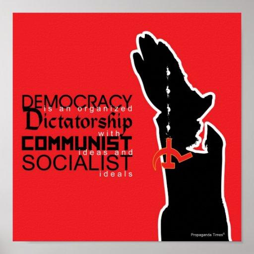 Demokrati är… affischer