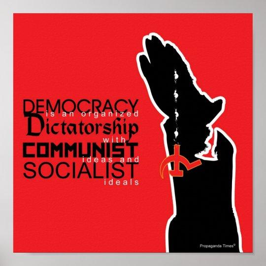 Demokrati är… poster