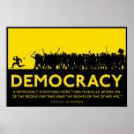 Demokratiaffisch Affisch