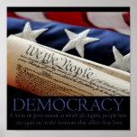 Demokratiaffisch Affischer