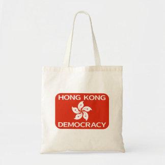 DemokratiHong Kong flagga Budget Tygkasse