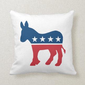 Demokratisk åsna kudde