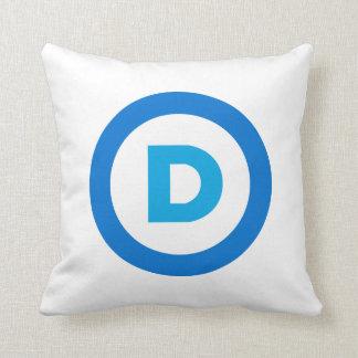 Demokratiska partitlogotyp kudde