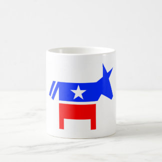 Demokratiska partitmugg kaffemugg