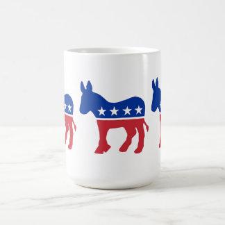 Demokratiska partitsymbolmugg kaffemugg