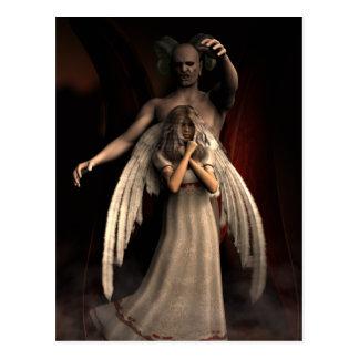 Demoniskt hot vykort