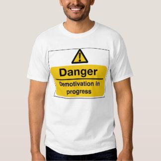 demotivation t shirt