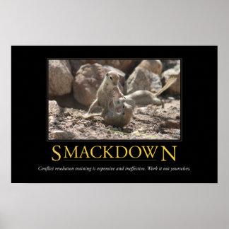 Demotivational affisch: Smackdown Poster