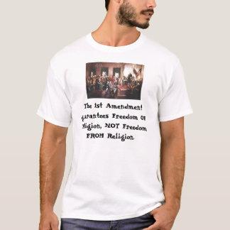 Den 1st rättelsen tee shirts