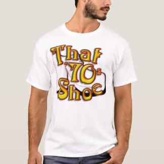 Den 70-tal skor skjortan tee shirts