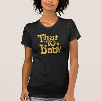 """Den 70-talbaby "", T Shirt"