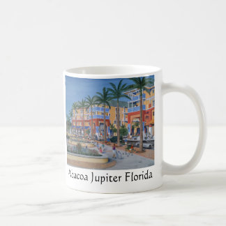 Den Abacoa townen centrerar Jupiter Florida Kaffemugg