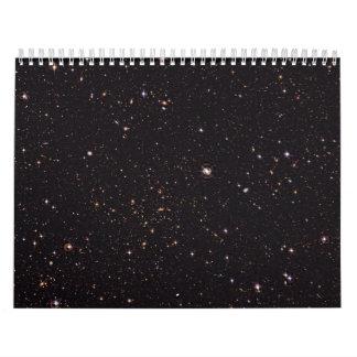 Den Abell 315 galaxen samla i en klunga från det Kalender