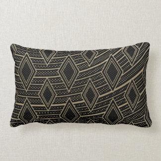 Den abstrakt afrikanen kudder lumbarkudde