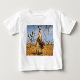 Den abstrakt djurkängurubabyen chockar tröjor
