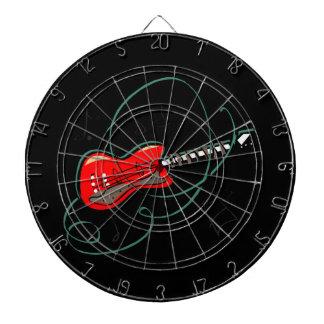 den abstrakt gitarren noterar musik red.png piltavla