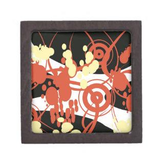 den abstrakt högvärdiga gåvan boxas premie presentförpackning