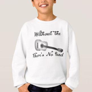 Den akustiska gitarren lurar den Hanes Tröjor