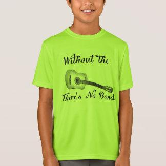Den akustiska gitarren lurar grundläggande t-shirts