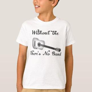 Den akustiska gitarren lurar Hanes ComfortBlend Tshirts