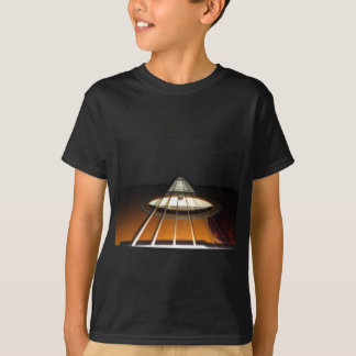 Den akustiska gitarren stränger tee shirt