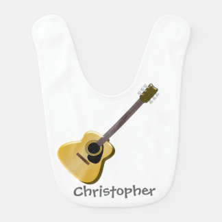 Den akustiska gitarren tillfogar precis namn hakklapp