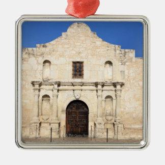 Den Alamo beskickningen i den moderna dagen San Julgransprydnad Metall