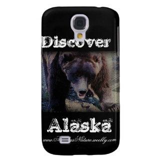 Den alaskabo grizzlyen Björn-Upptäcker Alaska Galaxy S4 Fodral