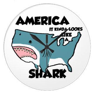 Den Amerika sorten av Looksnågot liknande en haj Stor Klocka