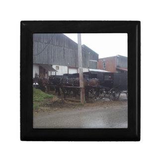 Den Amish gåvan boxas Smyckeskrin