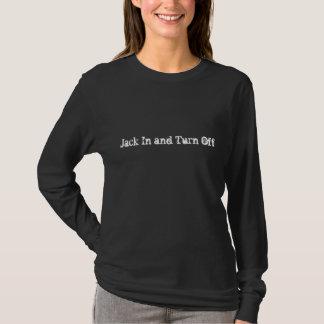 Den Anarchic singularityen - jack in och vänder av Tee Shirts