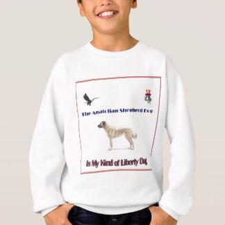 Den Anatolian herden för frihet T-shirts