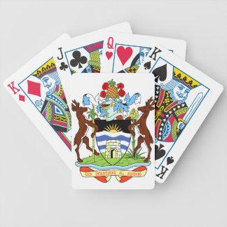 Den Antigua och Barbados medborgare förseglar Spelkort