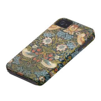 Den antika victorianen William Morris blommar Case-Mate iPhone 4 Fodral