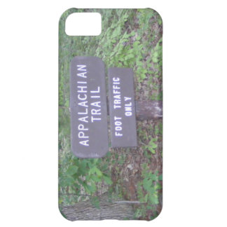 den appalachian slingavandringsledet undertecknar iPhone 5C fodral