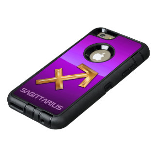 Den astrologiska sagittariusen undertecknar OtterBox defender iPhone skal