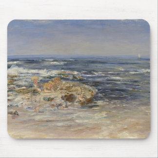 Den atlantiska surfan, 1899 (olja på kanfas) mus matta